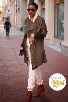 Beaute J'adore DIY Transition Coat  (Pattern Burdastyle Knee Length Coat 12/2010 #101)