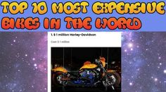 Top 10 Most Expensive Bikes in The World-Viral Media News