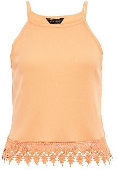 Womens peach cami from New Look - £8.99 at ClothingByColour.com