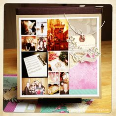 art scrap & more: 2013 in 52 Pages ➲ TUTO - how to make a page for Project Life