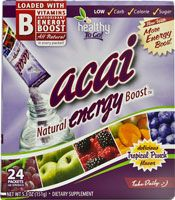 To Go Brands Healthy To Go Acai Energy Boost Drink Mix Tropical Punch