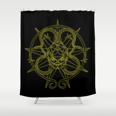 alien 2 Shower Curtain by Pedro Vale - $68.00