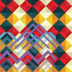 Original Abstract New Media by Simona Stoicescu Chevron Art, New Media, Romania, Geometry, Buy Art, Squares, Saatchi Art, Modern Art, Original Art