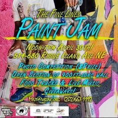 Paint With Me at The Words Beats & Life Paint Jam 2016