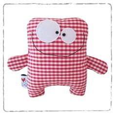 Monsters - Animals - Buy unique products on DaWanda online Sewing Projects For Kids, Sewing For Kids, Baby Sewing, Toy Art, Fabric Toys, Paper Toys, Sock Toys, Monster Dolls, Sewing Dolls