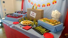 ODD squad party PBS food snack layout