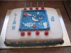 Blue Bulls cake