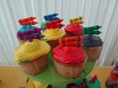 Crayola Birthday Party Ideas | Photo 1 of 22 | Catch My Party