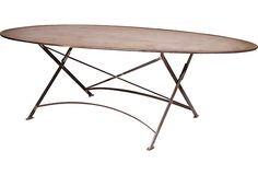 French Campaign-Style Dining Table on OneKingsLane.com