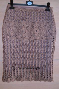 crochet skirt - microfiber size M patern from www.shareapattern.com