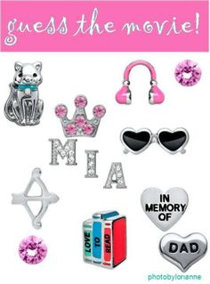 Origami Owl Name That Movie! game. Answer: The Princess Diaries... To place your order, visit my website at http://yourcharminglocket.origamiowl.com/ Have further questions, message me on Facebook https://www.facebook.com/YourCharmingLocket. --LIKE OUR FAN PAGE FOR A CHANCE TO WIN A FREE CHARM. 3 WINNERS EVERY MONTH--- Want more than just one locket, consider joining our team for an extra income.