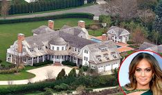 In late August, Jennifer Lopez, 42, purchased an $18 million mansion in the Water Mill area of The Hamptons, New York. The 14,000-square foot home features seven bedrooms and nine and half baths... Woe, a lot of bathrooms.