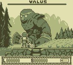 Shadow of the Colossus - Gameboy Edition : PixelArt Pixel Art Background, Cool Pixel Art, Akira, Pixel Art Games, 3d Fantasy, Cultura Pop, Community Art, Game Design, Art Tutorials