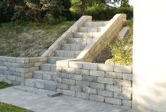Kuvahaun tulos haulle støttemur trapp