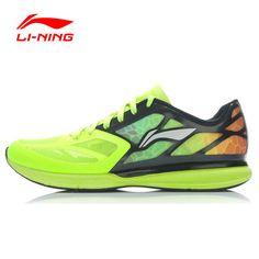 Li-Ning Superlight XI Outdoor Loopschoenen Mannen Licht Gewicht Mesh Ademend Demping Lace-Up Sneakers Schoenen ARBJ009 XYP270