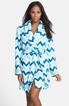 Cute and cozy!  Make + Model 'Soft As Snow' Plush Robe available at #Nordstrom Ü