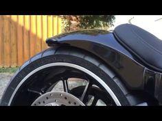 Harley Davidson Custom FXSB Softail Breakout Airride - YouTube