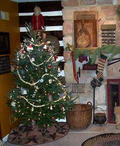 Primitive Christmas Decorating Ideas   Primitive living room - Living Room Designs - Decorating Ideas - HGTV ...
