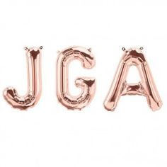 Junggesellinnenabschied Folienballon JGA rose gold