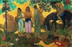 Rupe Rupe, coleta de frutas, 1899, Museu de Belas Artes Pushkin de Moscou Com Paul Gauguin (1848 - 1903), a Fondation Beyeler apresenta um dos artistas mais famosos e fascinantes da história. http://gabineted.blogspot.com.br/2015/02/retrospectiva-paul-gauguin-na-fundacao.html Como um dos grandes destaques culturais europeus do ano de 2015, a exposição na Fondation Beyeler reúne cerca de cinquenta obras-primas de Gauguin dos principais museus internacionais e coleções particulares.