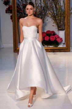 Anne Barcaza en Bridal Week primavera 2017 New York.