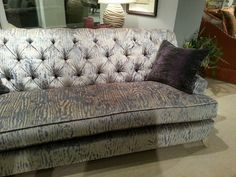 What do you think of this Burton James Chesterfield sofa? We feel we could recline on it & just mentally fade away. Chesterfield Sofa, Recliner, Love Seat, Couch, Chair, Furniture, Home Decor, Homemade Home Decor, Chesterfield