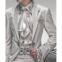 Ottavio Nuccio Gala - Wedding Frock Coat 527  With Matching Shirt, Foulard & Cummerbund