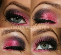 Pretty! Wish I could pull off a look like this. I'd end up looking like a clown.
