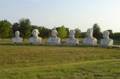 Presidential Heads in Houston, TX