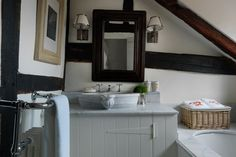 Discover small spaces design ideas on HOUSE - design, food and travel by House & Garden. This tiny attic bathroom makes maximum use of the s...