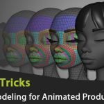Tips & Tricks related to Facial Modeling for Animated Productions by Sergi Caballer Garcia