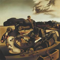 25 Famous Salvador Dali Paintings - Surreal and Optical illusion Paintings Optical Illusion Paintings, Optical Illusions, Salvador Dali Paintings, Art Terms, Autumn Illustration, 1975, Male Figure, Traditional Art, Art History
