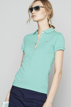 light Pique for Discount Womens Clothing, Top Luxury Brands, Camisa Polo, Lacoste, Amazing Women, What To Wear, Sportswear, Women Wear, Clothes For Women