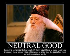 Neutral Good Dumbledore by 4thehorde on DeviantArt