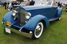 1934 Packard 110 Le Baron
