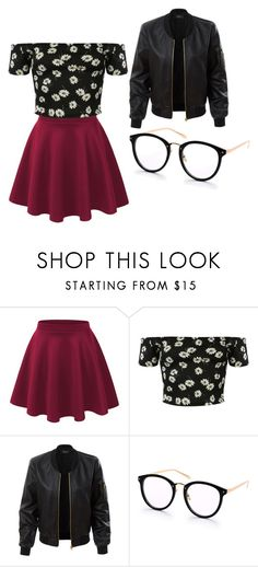 """""""outfit"""" by hjeanb on Polyvore featuring Pilot and LE3NO"""