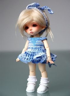 Crochet dress FairyLand Pukifee doll D14 by SannaAnna on Etsy, zł80.00