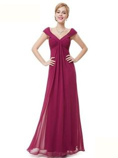 NEW MADISON RASPBERRY MAGENTA PINK CHIFFON LONG MAXI BRIDESMAID PROM DRESS 6-16 in Clothes, Shoes & Accessories, Women's Clothing, Dresses | eBay