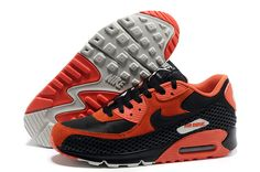 Nike Air Max 90 Red Black Men-Air Jordan, Jordan Shoes,Discount Jordan Shoes On Sale