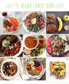 15 Vegan Lunch Ideas! — Oh She Glows – ENJI Daily #vegan #vegetarian #glutenfree
