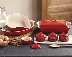 Le Creuset Stoneware 12-Piece Bakeware Set | Williams-Sonoma $255 - $387 #LoveNatickMall