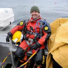 """Mark Smith was looking for """"something adventurous"""" when he took up diving. He had started parachuting but he wanted something that could be more easily accessed. """"Diving seemed to fit in between."""""""