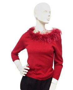 2cc77b35d08d Sweater Weather with Designers On A Dime! Check out this beautiful red  sweater along with