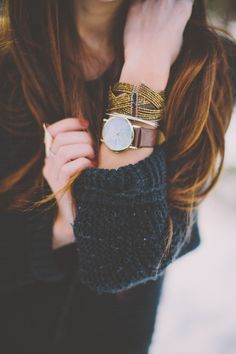 Looks great with that watch! Other Accessories, Jewelry Accessories, Fashion Accessories, Watch Accessories, Jewelry Box, Look Fashion, Autumn Fashion, Looks Halloween, Simple Watches