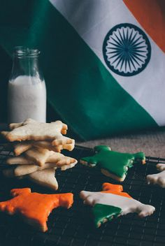 Indian Independence Day Cookies Recipe on Yummly