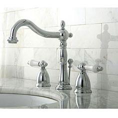 Chrome Widespread Bathroom Faucet
