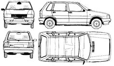 Chevrolet Step blueprints, vector drawings, clipart and
