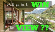 Win the lifestyle is giving away a lifestyle change!Would you like to own a wonderful Eco-Guest house in one of the most beautiful areas of Ecuador?