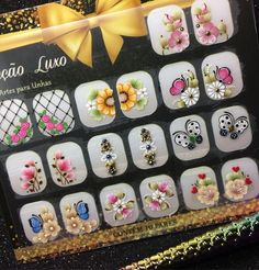 Make Up, Nail Art, Nails, Nail Jewels, Nice Nails, Nail Arts, Cool Easy Nail Designs, Fingernail Designs, Roses