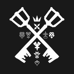 Check out this awesome 'Keyblade+Kingdom+hearts' design on @TeePublic!